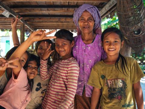 Malaria free family