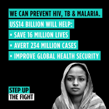 Step up the fight - The RBM Partnership to End Malaria welcomes increased funding targets